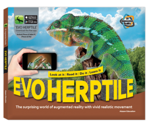 Arevo Augmented Reality 3D EVO Book: EVO Herptile Book
