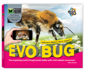 Arevo Augmented Reality 3D EVO Book: EVO Bug Book