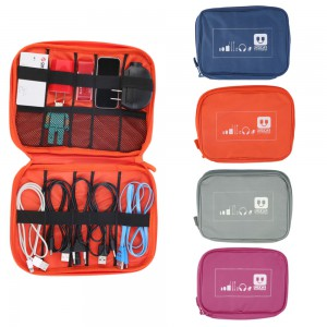 Travel Case for Usb Cables and Chargers