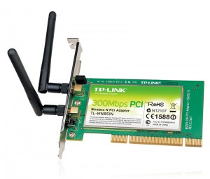 TP-Link Wireless-N300 PCI Express Adapter