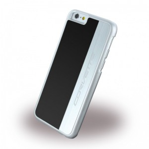 Corvette Brushed Aluminium Hard Cover Case for Apple iPhone 6/6S