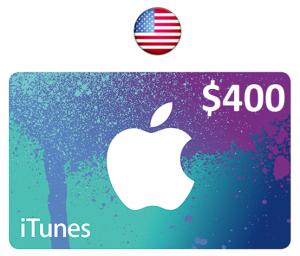 Apple iTunes Gift Card $400