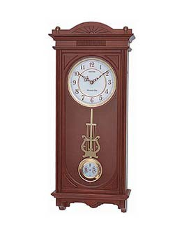 Rhythm Sound In Place Wall Clocks - CMJ341SR06