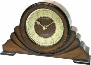Rhythm Wooden Table Clock - CRG108NR06