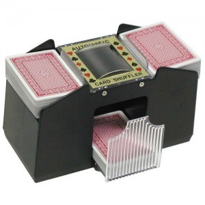 Trademark Poker 4-Deck Automatic Card Shuffler