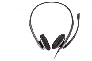 Cyber Acoustics Stereo Headset, Headphone With Microphone (Ac-201)