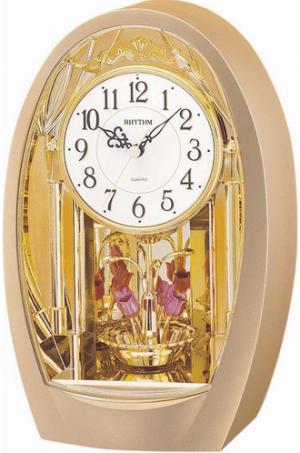 Rhythm Contemporary Motion Clocks Wall Clock - 4RH742WD82