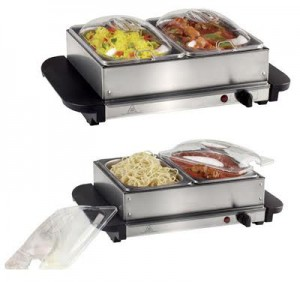 Magnum 2 Tray Buffet Food Warmer MG-368W