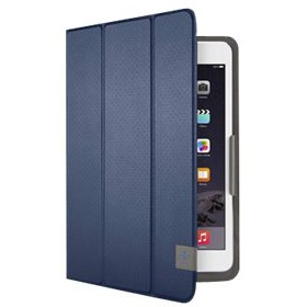 Belkin Ipad Mini (1-4) 8 Tri Fold Cover Dblue - F7N323btC02