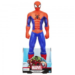Hasbro-Spider Man Titan Hero Spider Man Action Figure - B1884