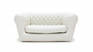 Blofiled Sofa (White) Two seater