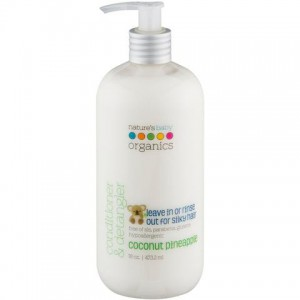 Natures Baby - Conditioner & Detangler -  Coconut / Pineapple 16 Oz