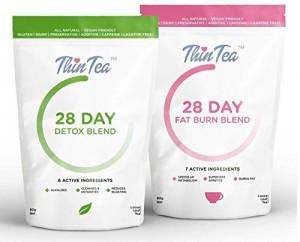 THINTEA DETOX 28 DAY -Tea detox-Promotes Fat burning -Lose Weight Fast
