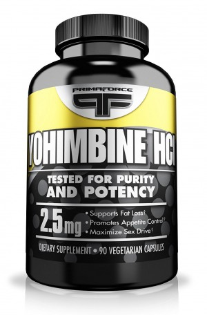 Primaforce Supplement, Yohimbine Capsules- Weight Loss Supplement, Improve Cognitive Performance, Sexual Enhancement- 90 Count - 811445020399
