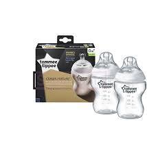 Tommee Tippee CTN 2x260ml Easi-Vent™ Feeding Bottle BPA free #TT42252071