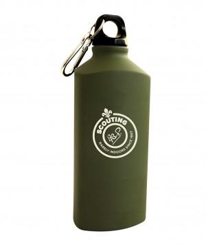 True Brands LTD Boy's Scout Water Bottle - Green, 600 ml
