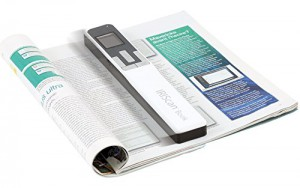 IRIS Scan Book 5 White (458739) - 30PPM Scan anything, anywhere. No computer needed. Battery Powered Book/Document Scanner. Ideal for scanning books, magazines & newspapers without tearing off pages.