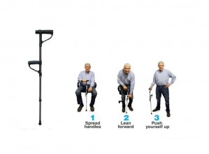 Worlds Best Walking New Model Stick For Old People With Light