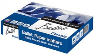 Ballet A4 Photocopy Paper (500 Sheets per each pack)