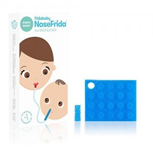 Nosefrida Baby Nasal Aspirator with 4 filters and 20 Extra Filters - Box Damaged Partially