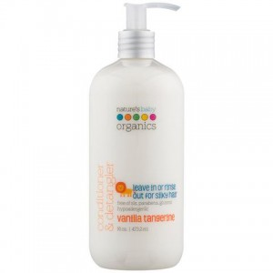Natures Baby - Conditioner & Detangler -  Vanilla / Tangerine 16 Oz