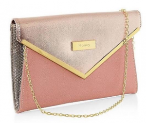 Honey Accessories - Soft Salmon and Crushed Rose Handbag