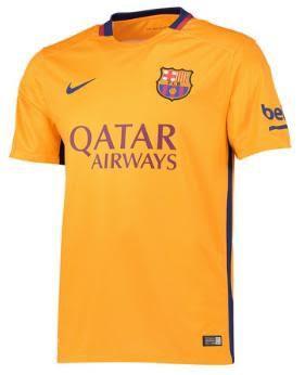 Barcelona Away Jersey 15-16