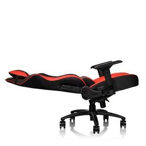 Thermaltake Tt eSPORTS GT Comfort C500 Big & Tall Racing Bucket Seat Style Ergonomic Gaming Chair Black/Red GC-GTC-BRLFDL-01