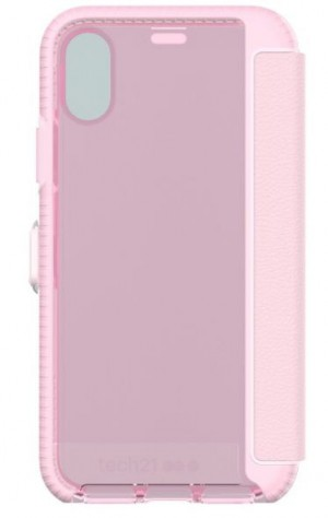 Tech21 Evo Wallet Case for Apple iPhone X (Pink) - T21-5861