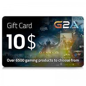 G2A Gift Card 10$