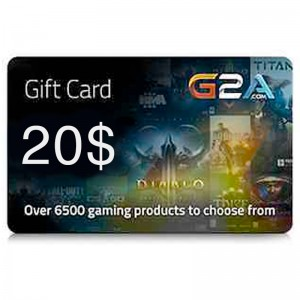 G2A Gift Card 20$