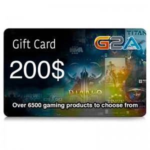 G2A Gift Card 200$