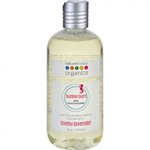 Natures Baby- Bubble Bath - Lovely Lavender 12 Oz