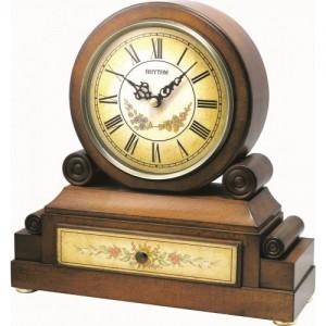 Rhythm - Wooden Table Clocks -  CRH136NR06