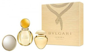 Bvlgari Goldea Gift Set 50ml + 25ml mini + Mirror