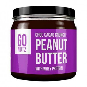 Go Nutz - Choc Cacao Crunch Peanut Butter With Whey Protein 250g