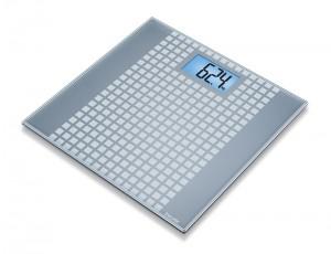 Beurer Glass Bathroom Scale Squares - GS 206
