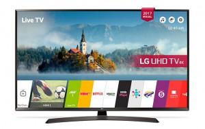 """LG TV 65"""" Smart UHD, IPS Panel, Built in Receiver, Miracast, WiDi  - 65UJ634V"""