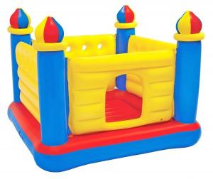 Intex Jump-o-lene Castle Bouncer, Ages 3-6 - 48259