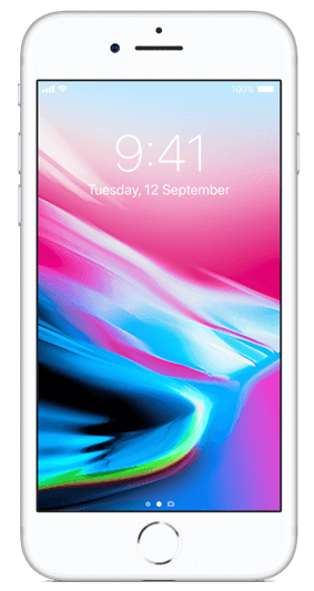 Apple IPhone 8 - 64GB, 4G LTE -Silver