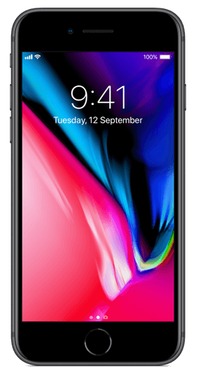 Apple iPhone 8 - 64GB, 4G LTE - Space Grey