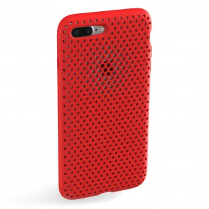And mesh case for iphone 7 plus Red - AMMSC710-RED