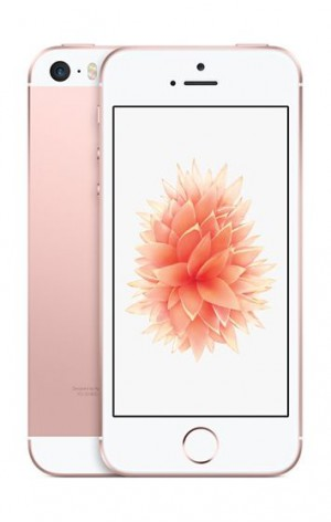 Apple iPhone SE with FaceTime - 64 GB, 4G LTE, WiFi, Rose Gold