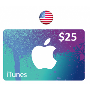 Apple iTunes Gift Card $25