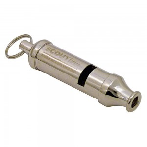 True Brands Scout Whistle - Silver