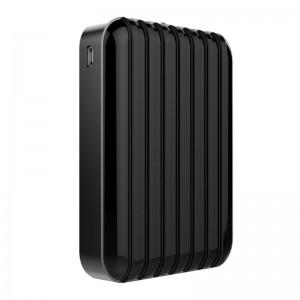 GOSH! Powerbank large capacity USB Mobile Battery Charger 10400mAh black E157