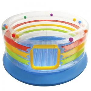 Intex Jump-o-lene Transparent Ring Bounce, Ages 3-6 - 48264