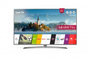 """LG TV 55"""" Smart Ultra HD  LED, Active HDR, WebOS 3.5, Built in Receiver - 55UJ670V"""
