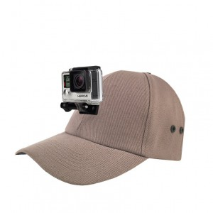 Actionhat : Hat Mount for GOPRO Camera- Cool Gray