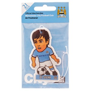 Manchester City F.C. Air Freshener Silva- David Silva